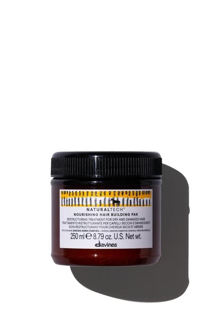 Davines Nourıshıng Haır Buıldıng Pak Saç Maskesi 250 ml (Kuru ve Yıpranmış Saçlar İçin Yapılandırıcı Saç Maskesi)