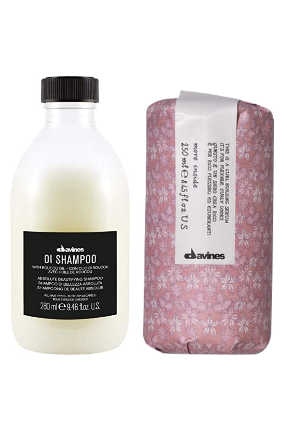 Davines Oı Oil Şampuan 250 ml + Davines Curl Building Serum 250 ml