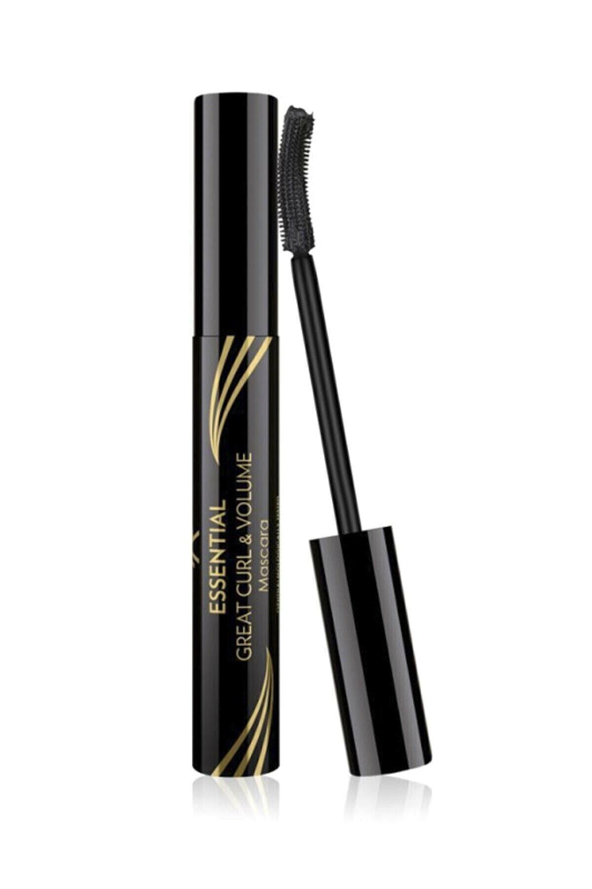 Golden Rose Kıvrım & Hacim Etkili Siyah Maskara - Essential Great Curl & Volume Mascara