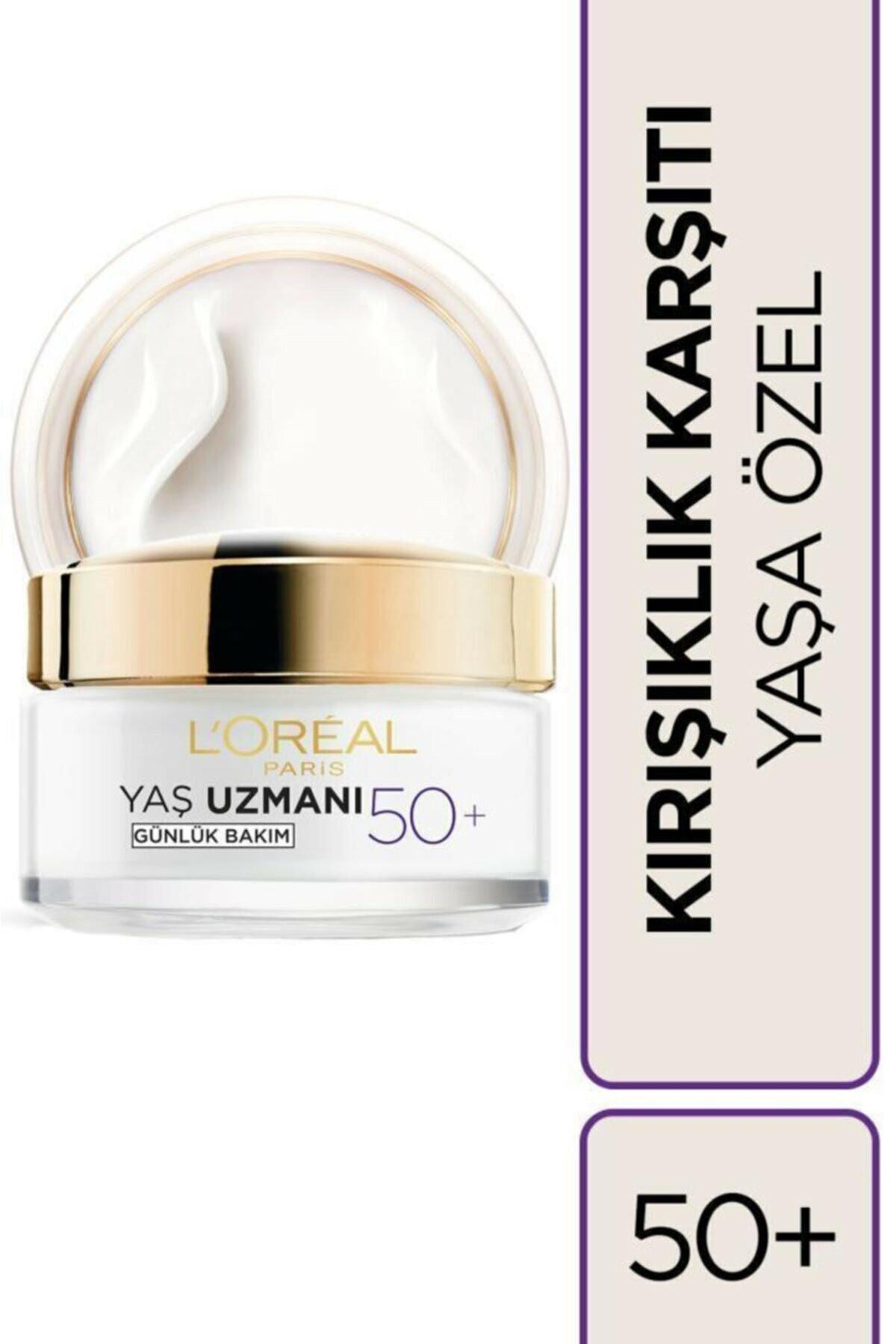 L'oréal Paris Yaş Uzmanı 50+ Kırışıklık Karşıtı Yenileyici Krem 50 ml