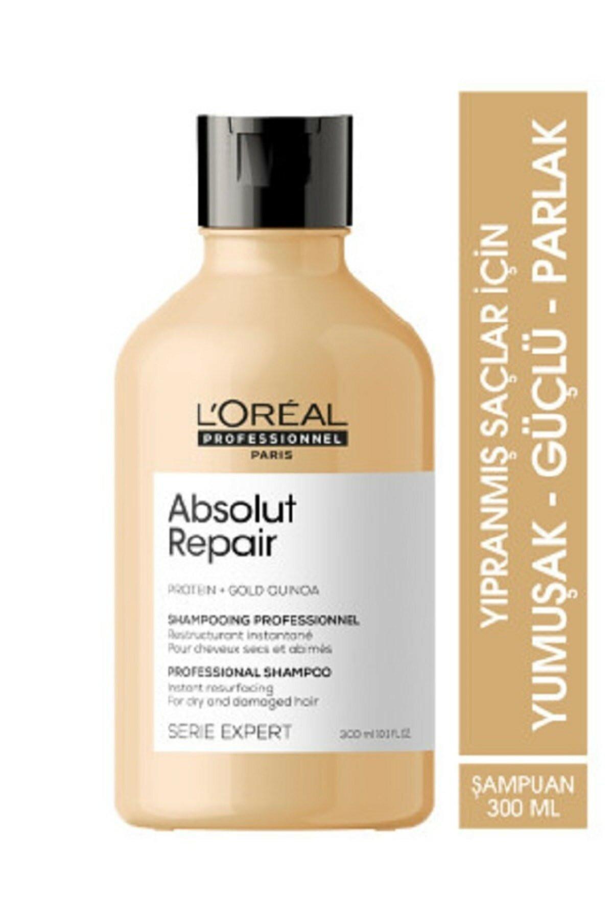 L'oreal Professionnel Serie Expert Absolut Repair Yıpranmış Saçlar Için Onarıcı Şampuan 300 ml