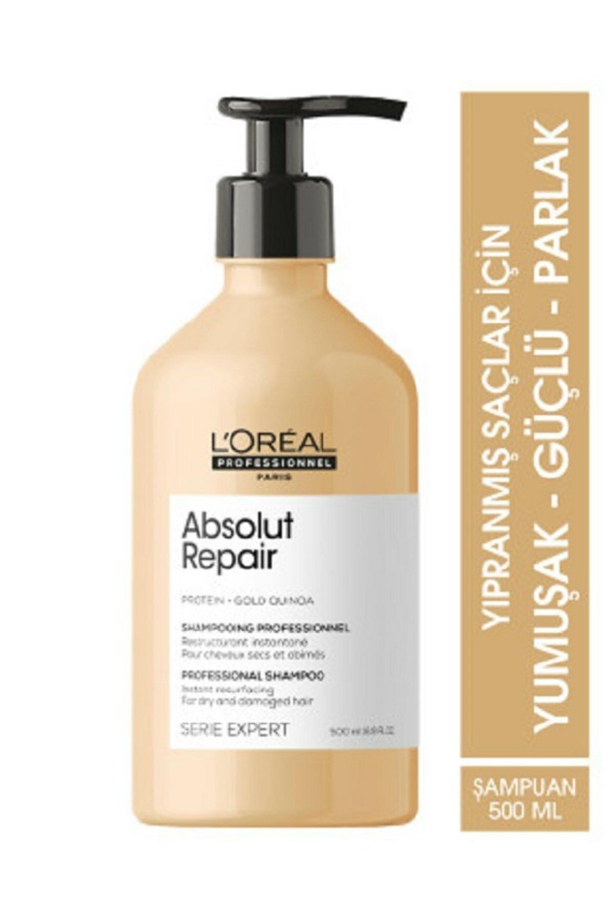 L'oreal Professionnel Serie Expert Absolut Repair Yıpranmış Saçlar Için Onarıcı Şampuan 500 ml