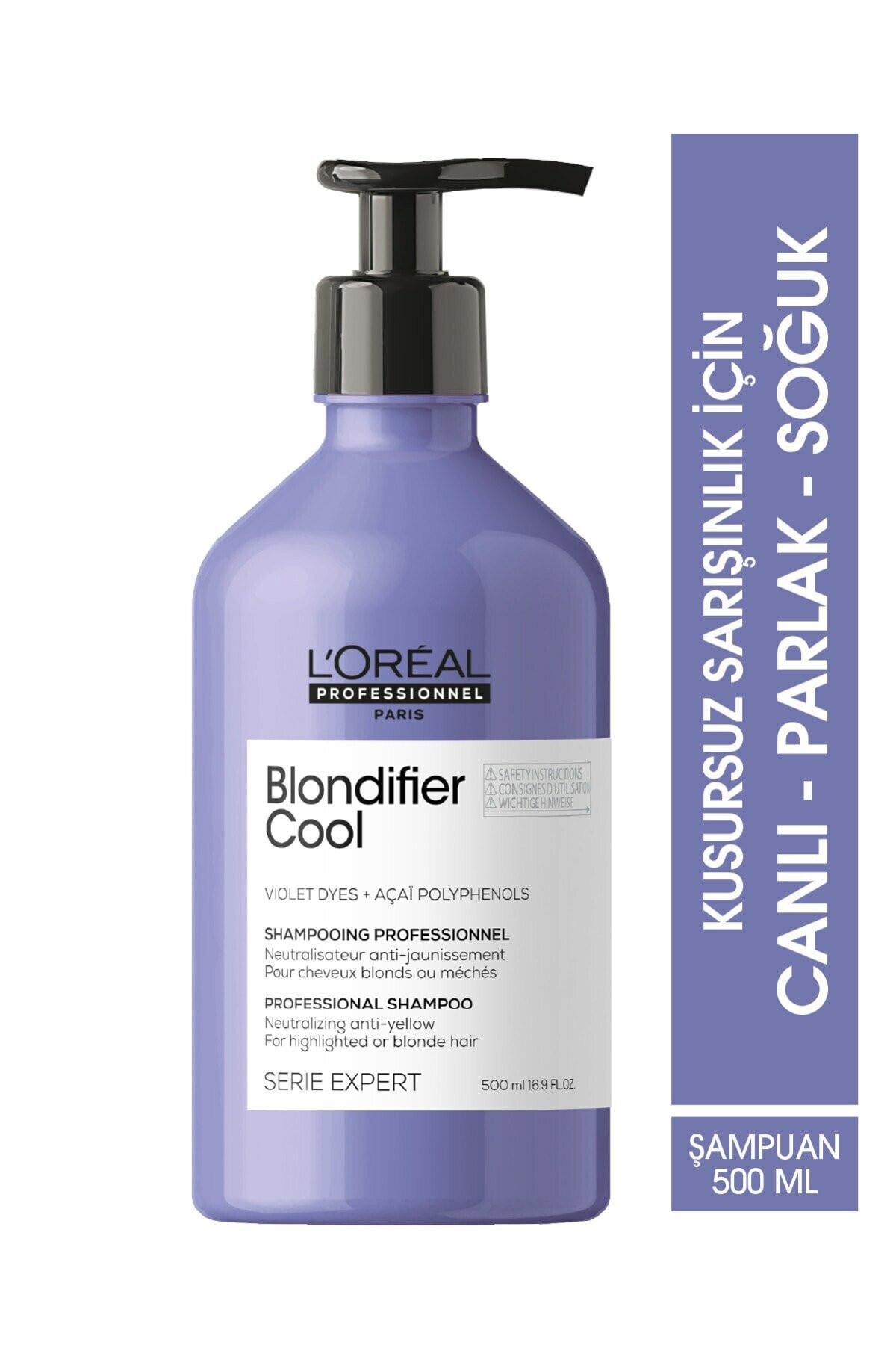L'oreal Professionnel Serie Expert Blondifier Kusursuz Sarışınlık Sağlayan Mor Şampuan 500 ml