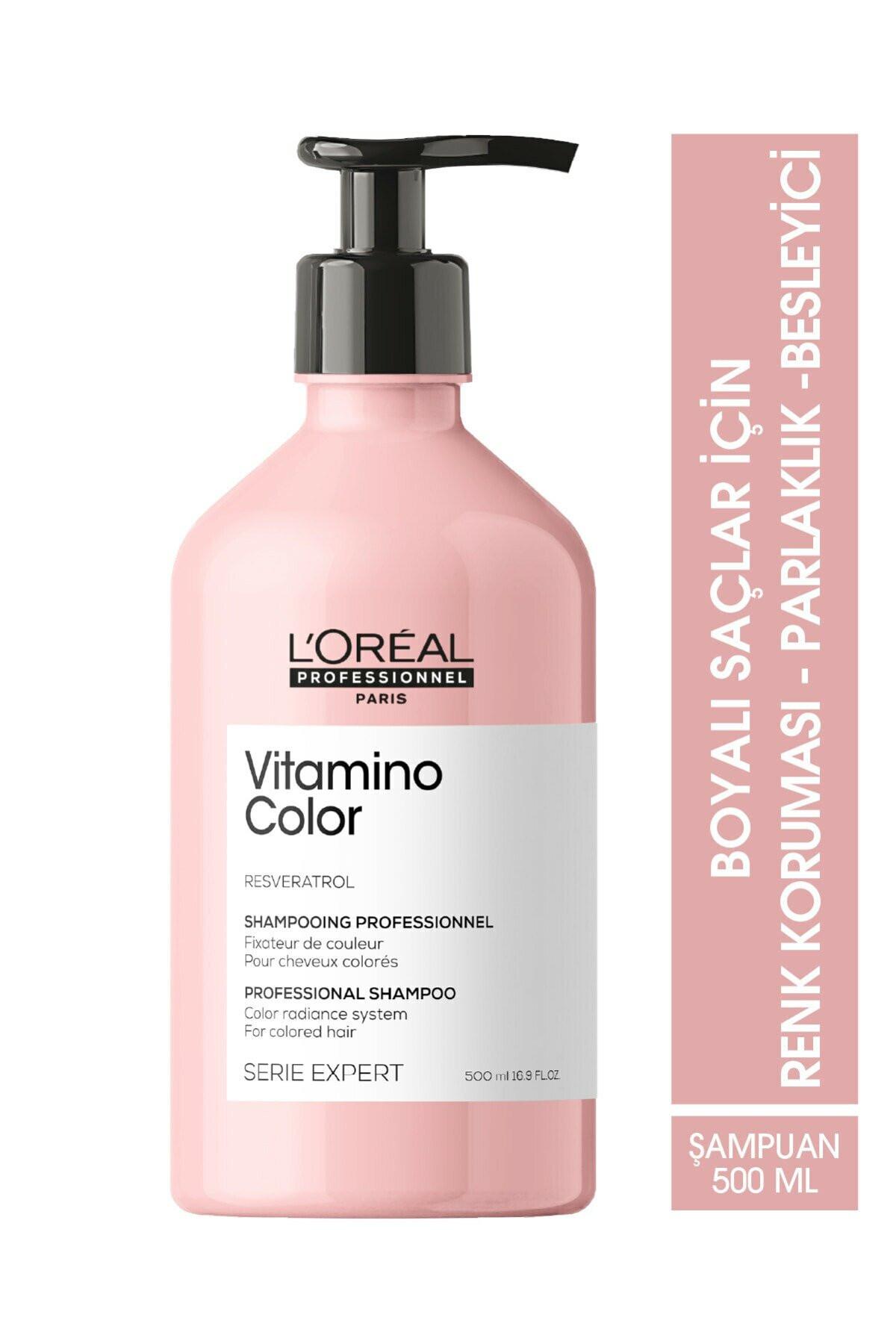 L'oreal Professionnel Serie Expert Vitamino Color Renk Koruyucu Şampuan 500 ml